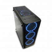 Gabinete Gamer Modoc Painel Lateral Temperado Preto Warrior Ga178  - Mkp000278003443