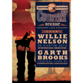 Willie Nelson & Garth Brooks Collection 2X Country Music - Dvd Sertanejo - Mkp000315001620
